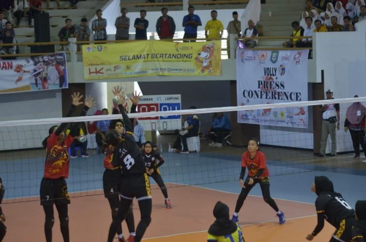 Voli Putri Lampung Petik Kemenangan Kedua di Porwil X