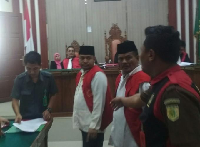 Vonis Majelis Hakim Ditanggapi Berbeda Dua Pemilik Sabu