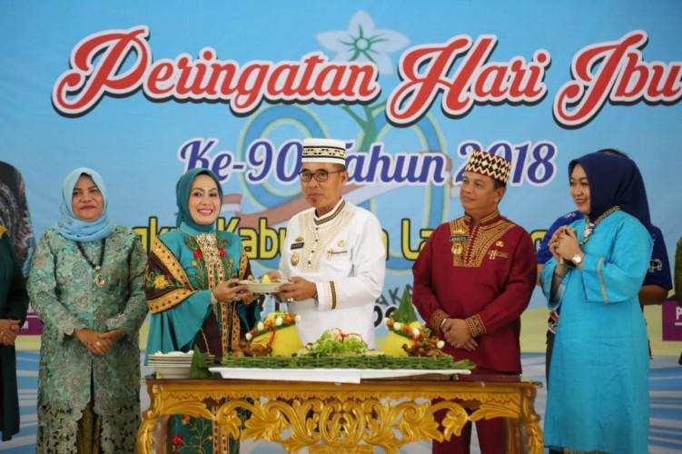 Wabup Lampung Timur Refleksi Peringatan Hari Ibu