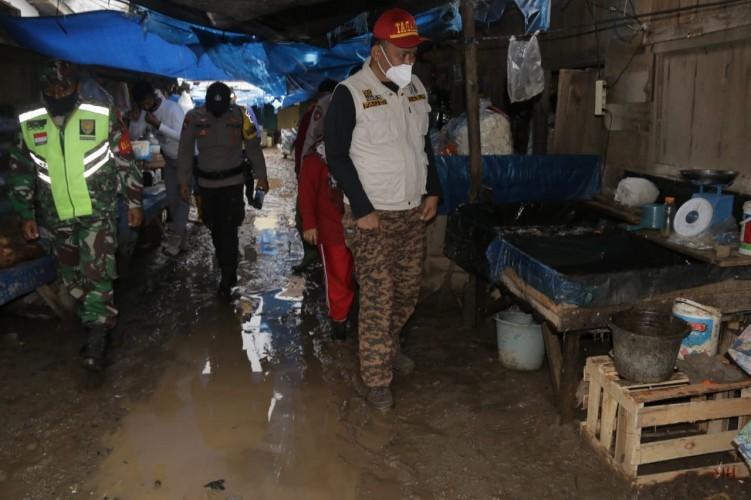 Wabup Pringsewu Apresiasi Ormas Peduli Banjir Pardasuka