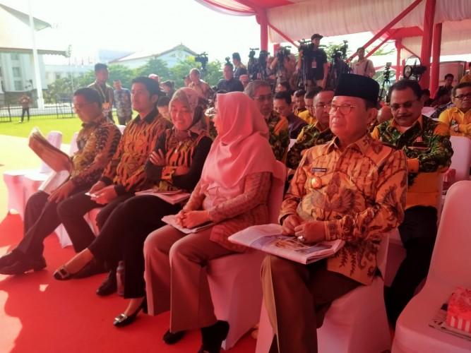 Wagub Lampung dan Bupati Tubaba Hadiri Peringatan HPN 2020