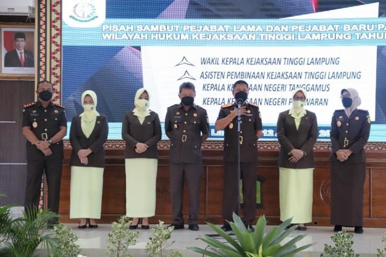 Wakajati dan Dua Kajari di Lampung Diganti