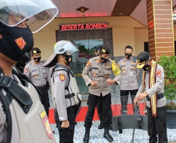 Wakapolda Lampung Kunjungi Calon Lokasi Mapolres Tubaba