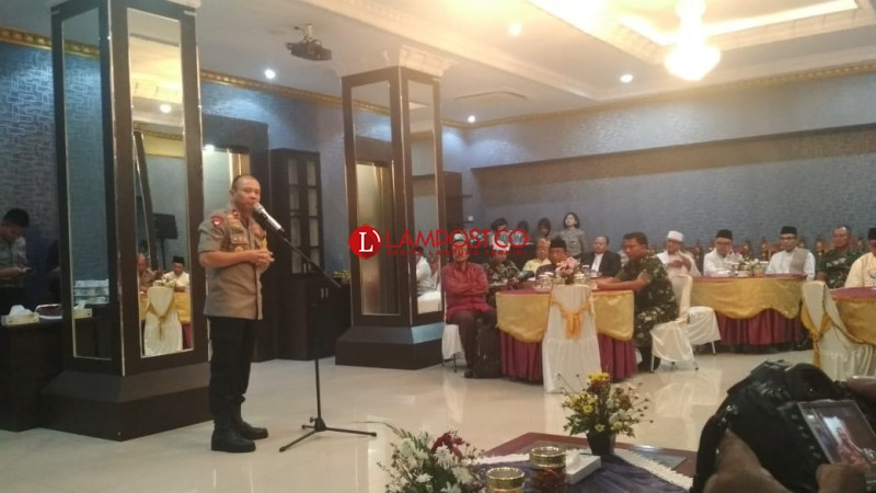 Wakapolda: Masyarakat Lampung Cerdas Tak Akan Terpapar Isu Mobilisasi Masa