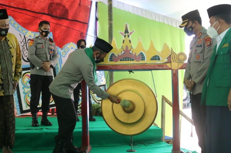 Wakapolda Meluncurkan Pondok Pesantren Tangguh Nusantara di Ponpes Darussalamah