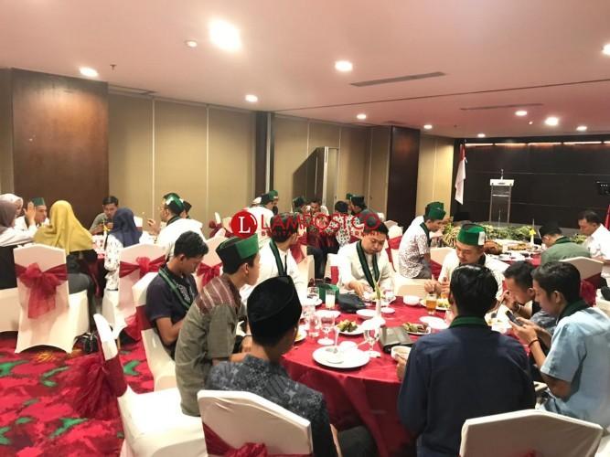 Wakapolda Silahturahmi dan Buka Puasa Bersama HMI se-Lampung