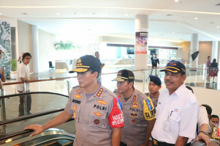 Wakapolri Komjen Pol Ari Dono Sukmanto Apresiasi Kesiapan Lampung Hadapi Mudik