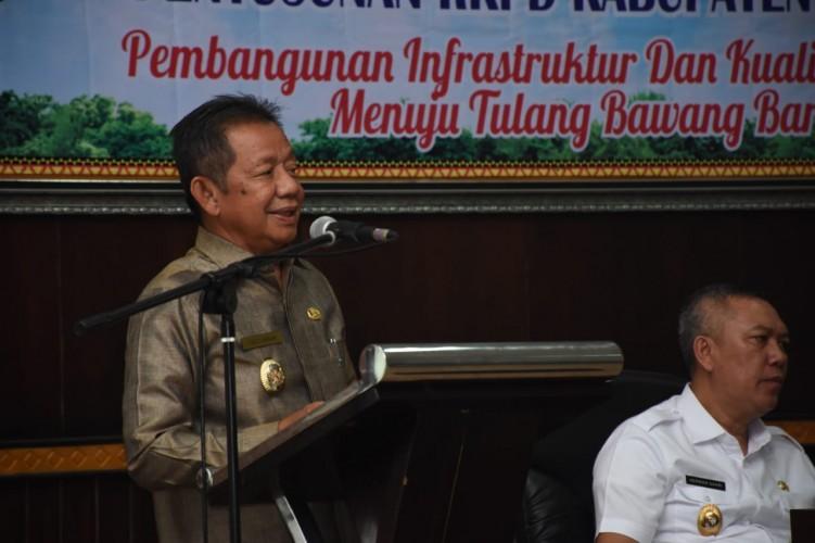 Wakil Bupati Tubaba Buka Musrenbang 2020 dan RKPD 2021