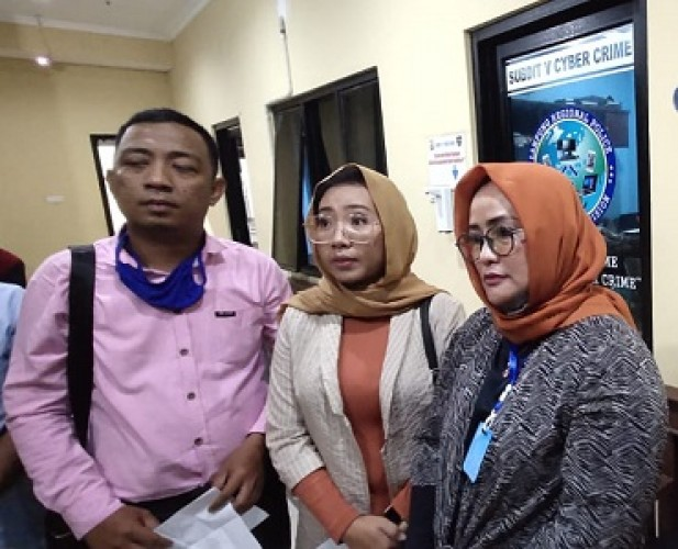 Wakil Ketua DPRD Tuba Bawa Saksi ke Polda Lampung