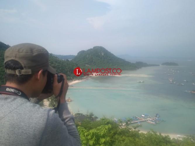 Walhi dan LBH Lampung Cek Lokasi Reklamasi di Pantai Sidodadi