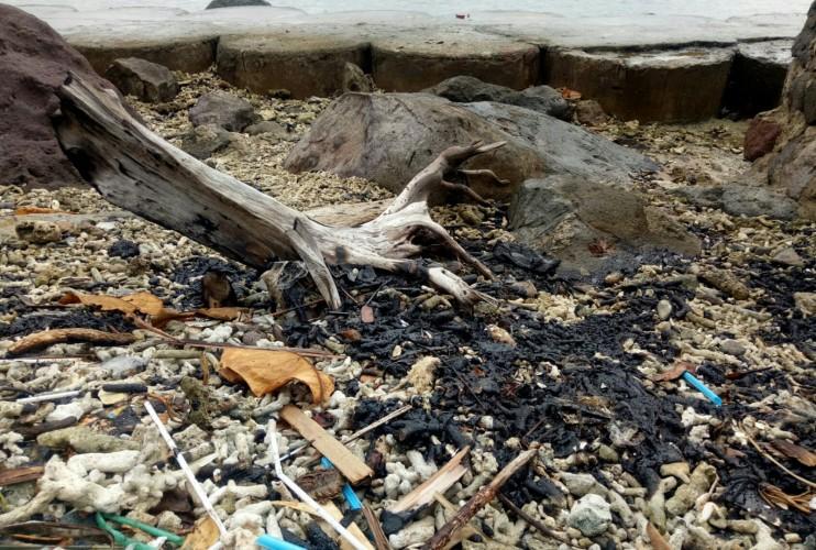 Walhi Soroti Temuan Limbah Aspal di Desa Kunjir