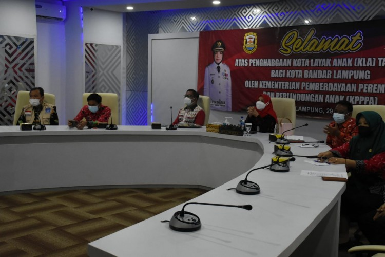 Wali Kota akan Pilih Anak-anak sebagai Duta Prokes di Bandar Lampung