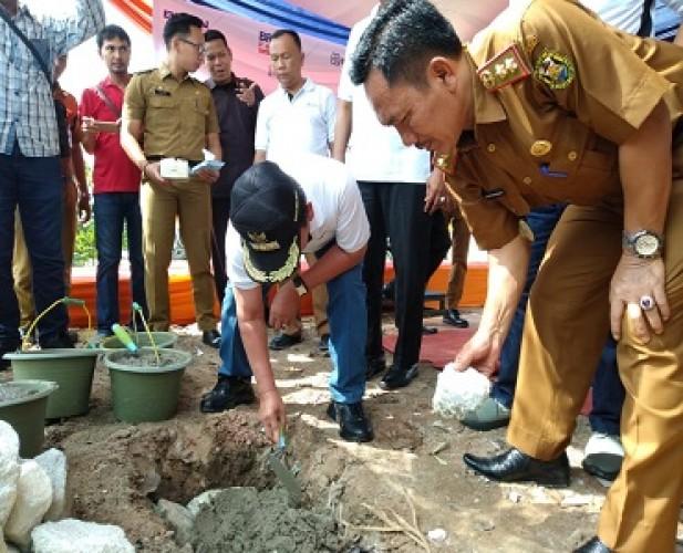 Wali Kota Apresiasi Bantuan Konservasi Sungai di Sukarame