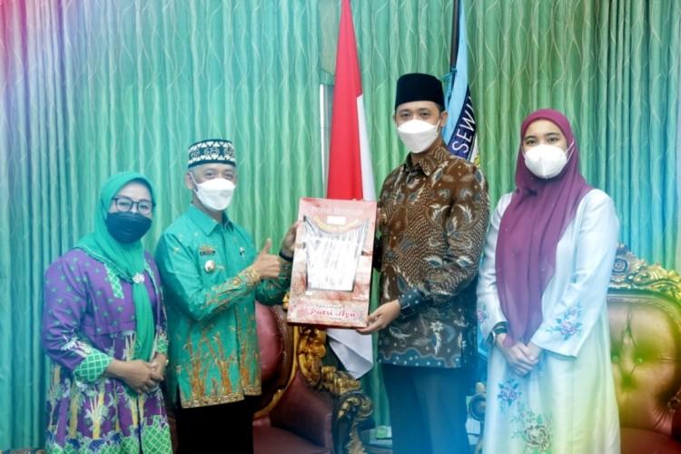 Wali Kota Bukittinggi Studi Banding Kabupaten Sehat ke Pringsewu