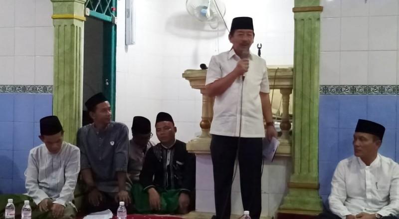 Wali Kota Herman HN Blusukan ke Masjid di Malam Peringatan Maulid Nabi