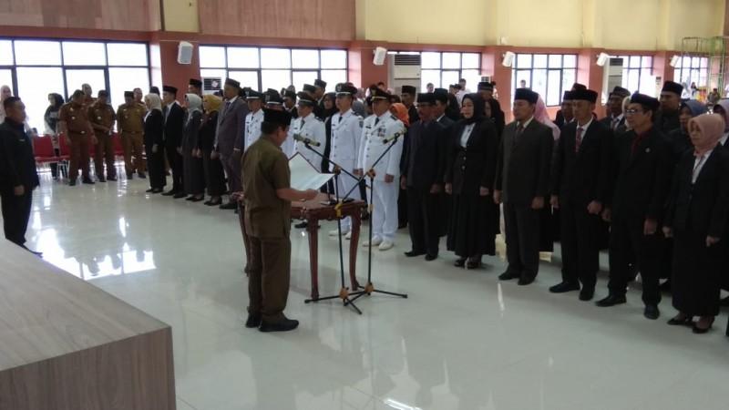 Wali Kota Herman HN Lantik 68 Pejabat Eselon III dan IV