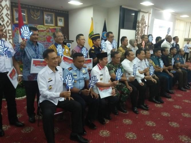 Wali Kota Herman HN Terima Penghargaan dari BNN Lampung