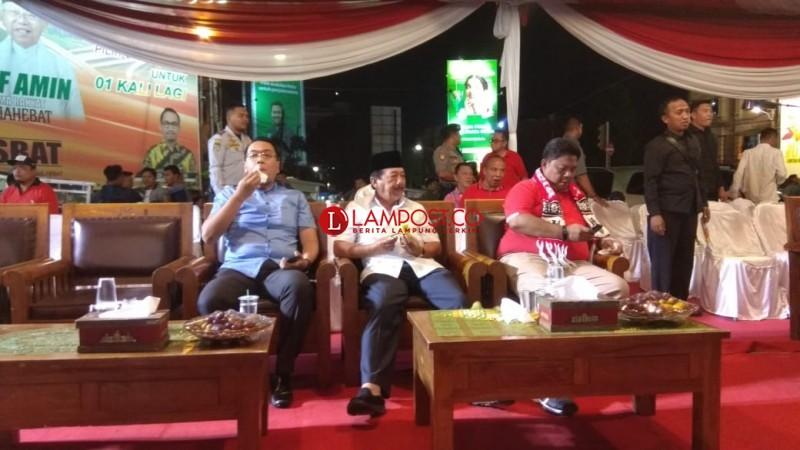Wali Kota Ikut Nobar Sepakbola Timnas U-22 di Tugu Adipura