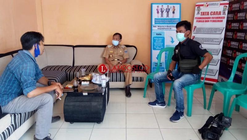 Wali Kota Metro Pairin Diperiksa Bawaslu Lamteng