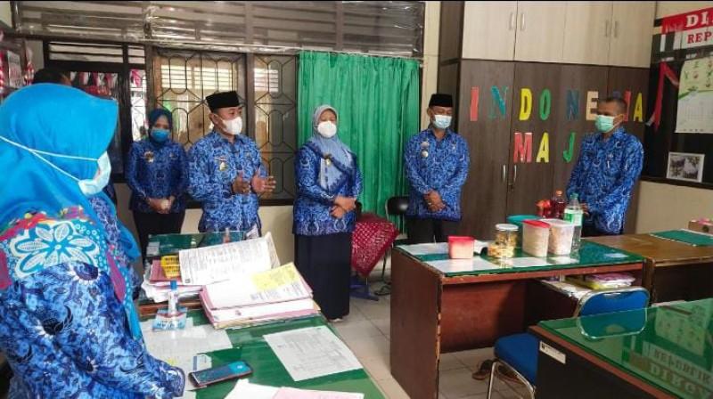 Wali Kota Metro Silaturahmi ke OPD Usai Idulfitri
