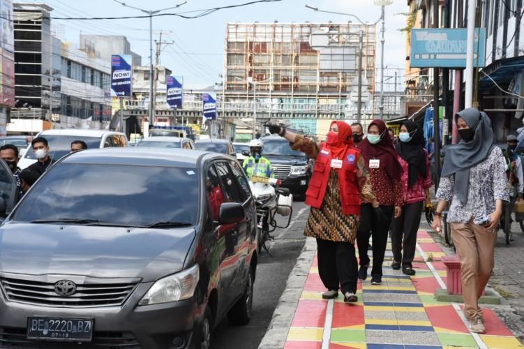 Wali Kota Nilai Kesadaran Prokes di Pasar Tradisional Cukup Baik
