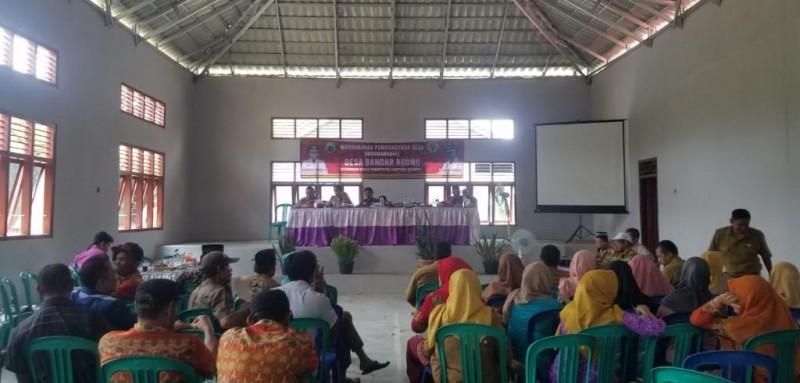 Warga Bandaragung Usulkan Pembangunan Jalan dalam Musrenbangdes
