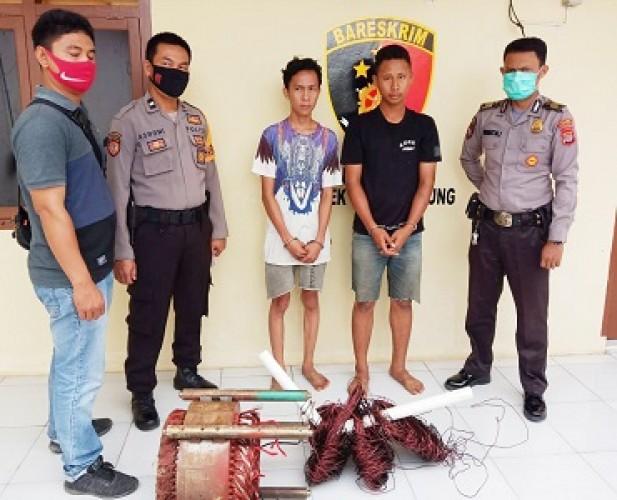 Warga Banjaragung Tangkap Basah Pencurian Barang Milik PDAM