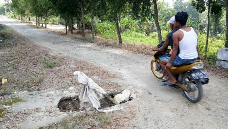 Warga Banjarsari HarapkanPerbaikan Gorong-gorong dan Jalan