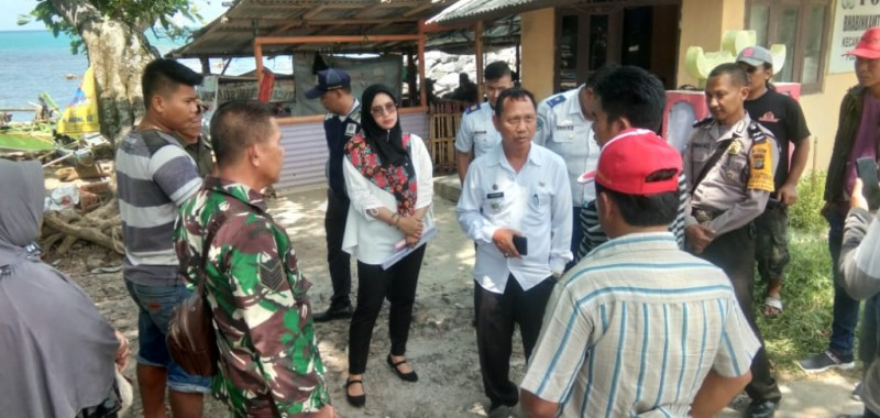 Warga Canti Tolak Pemasangan Plang Kepemilikan Lahan Dermaga