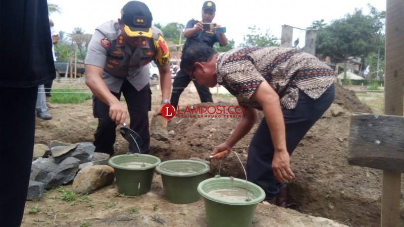 Warga Desa Margo Jadi Hibahkan Tanah Bangun Pos Polisi