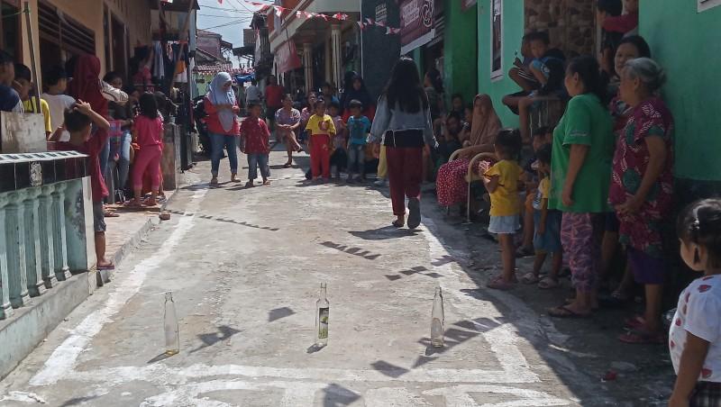 Warga Gang Langgeng Tetap Berlomba di Tengah Pandemi