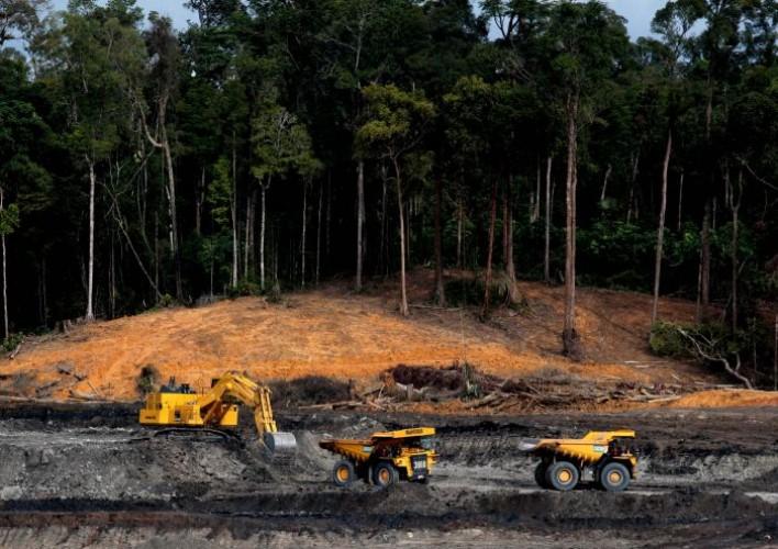Warga Kalimantan Tuntut UU Minerba Dibatalkan