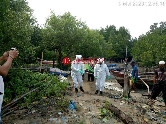 Warga Ketapang Temukan Mayat Pria di Dalam Perahu