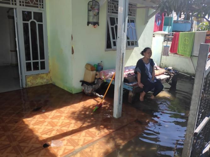 Warga Khawatir Banjir Rob Kembali Datang