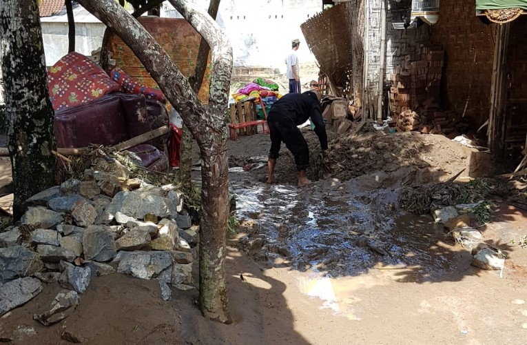 Warga Korban Banjir Bagelen Nilai Satgas Tak Sigap dan Tanggap Bencana
