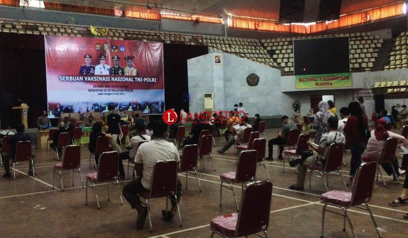 Warga Lampung Makin Sadar Pentingnya Vaksinasi