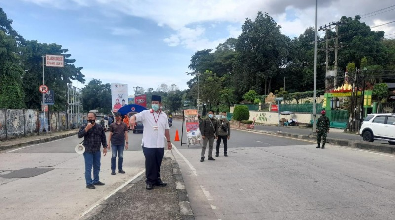 Warga Luar Bandar Lampung Reaktif Covid-19 Dilarang Melintas