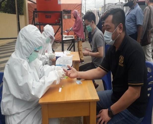 Warga Luar Bandar Lampung Sambut Baik <i>Rapid Test</i> Gratis