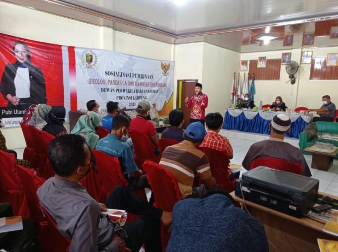 Warga Natar Diminta Tak Tergoda Paham Radikal Perongrong Pancasila