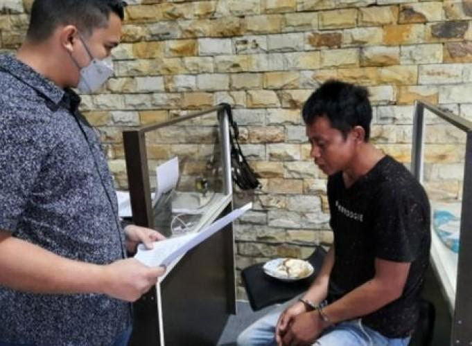 Warga OKI Sumsel Ditangkap Polisi Edarkan Sabu di Lamtim