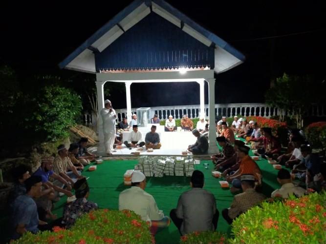 Warga Palaspasemah Peringati 1 Muharram dengan Doa Bersama di Prasasti Batu Bertulis
