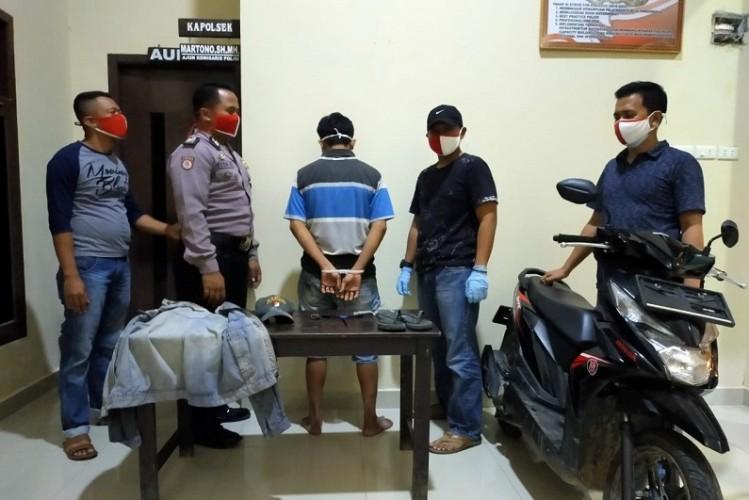 Warga Pardasuka Dibekuk Polisi atas Percobaan Pencurian Motor