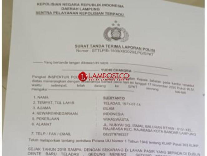Warga Pertanyakan Kelanjutan Laporan Pencurian Pasir ke Polda