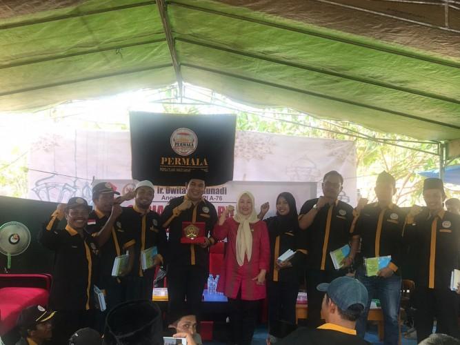 Warga Seputih Surabaya dapat Sosialisasi 4 Pilar Kebangsaan dari Anggota MPR