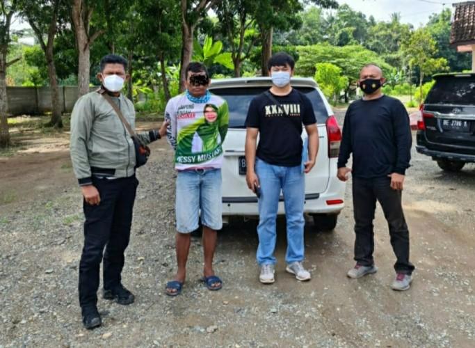 Warga Sukajadi Ditangkap Polisi karena Gadaikan Motor Pinjaman