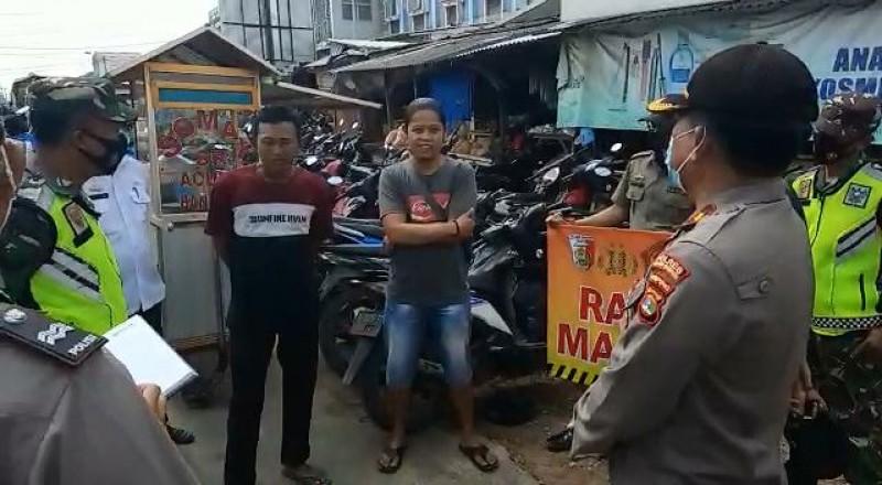 Warga Tuba Tak Pakai Masker Dihukum Baca Pancasila
