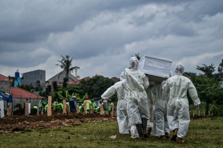 Warga Tubaba yang Meninggal akibat Covid-19 Dimakamkan di TPU Pulungkencana