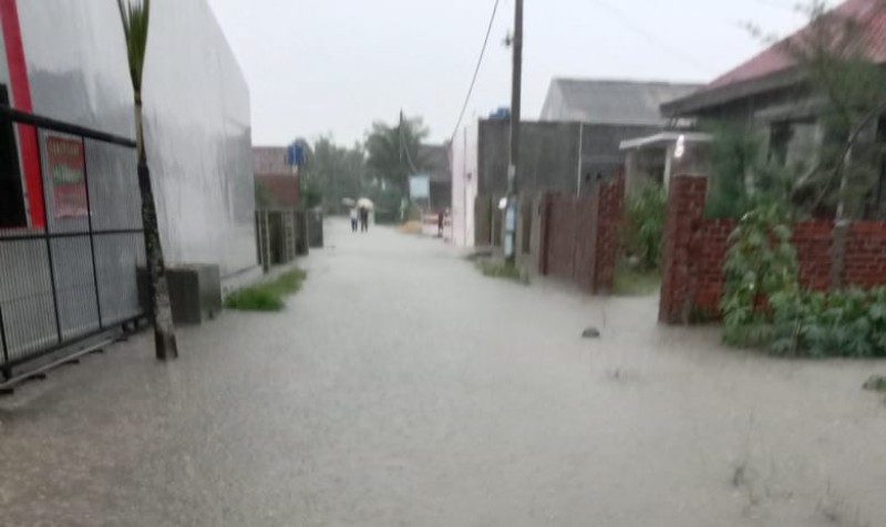 Warga Waydadi Baru Kembali Kebanjiran