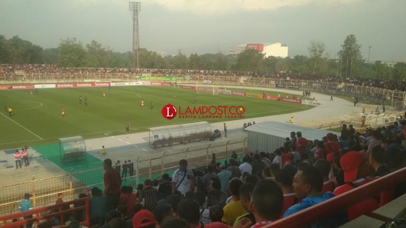 Wasit Anulir Gol TA Musafri di Menit Ke-31, Badak Lampung FC Sementara Masih Tertinggal 0-1