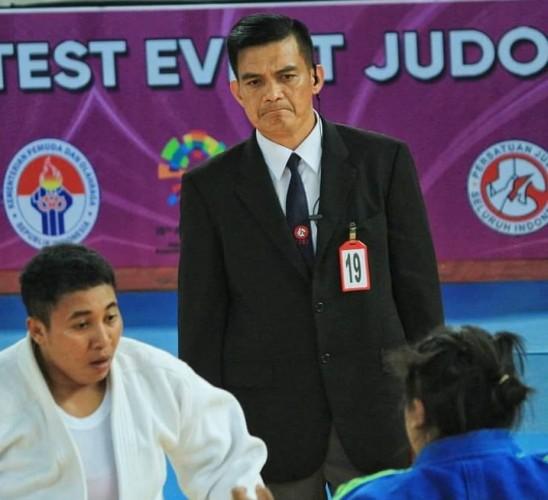Wasit Lampung Pimpin Cabang Judo PON XX
